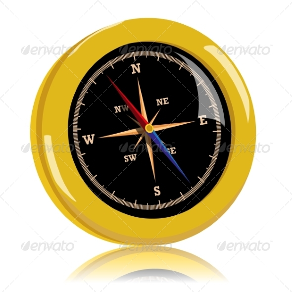 Golden Compass - Travel Conceptual