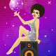 Disco Girl - GraphicRiver Item for Sale