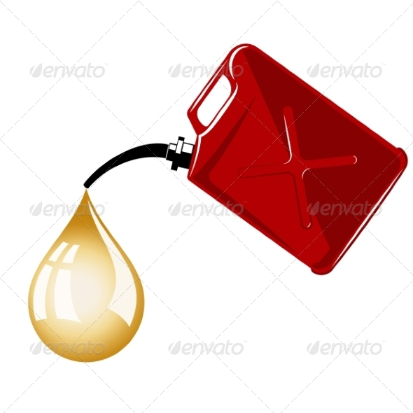 Gas Can - Miscellaneous Vectors