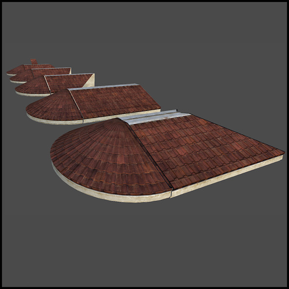 RoofLedge Sets - 3DOcean Item for Sale
