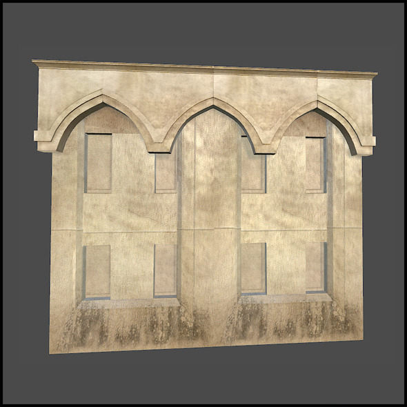 Arch Building - 3DOcean Item for Sale