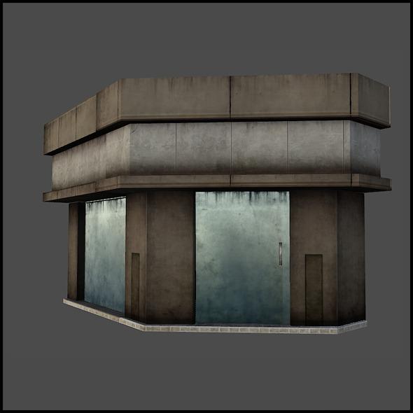 Shop Set 02 - 3DOcean Item for Sale