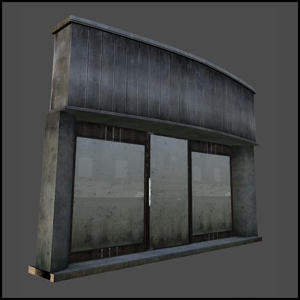 Shop Set 03 - 3DOcean Item for Sale