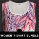 Women T-shirt Mock-Up set - GraphicRiver Item for Sale
