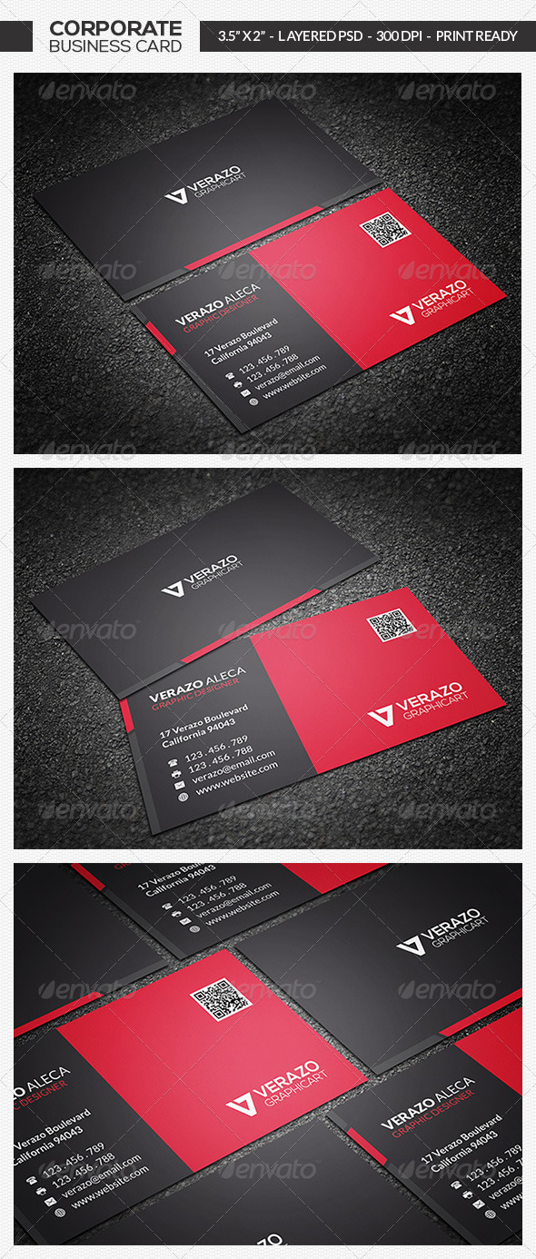 Modern Business Card 11 - Corporate Business Cards