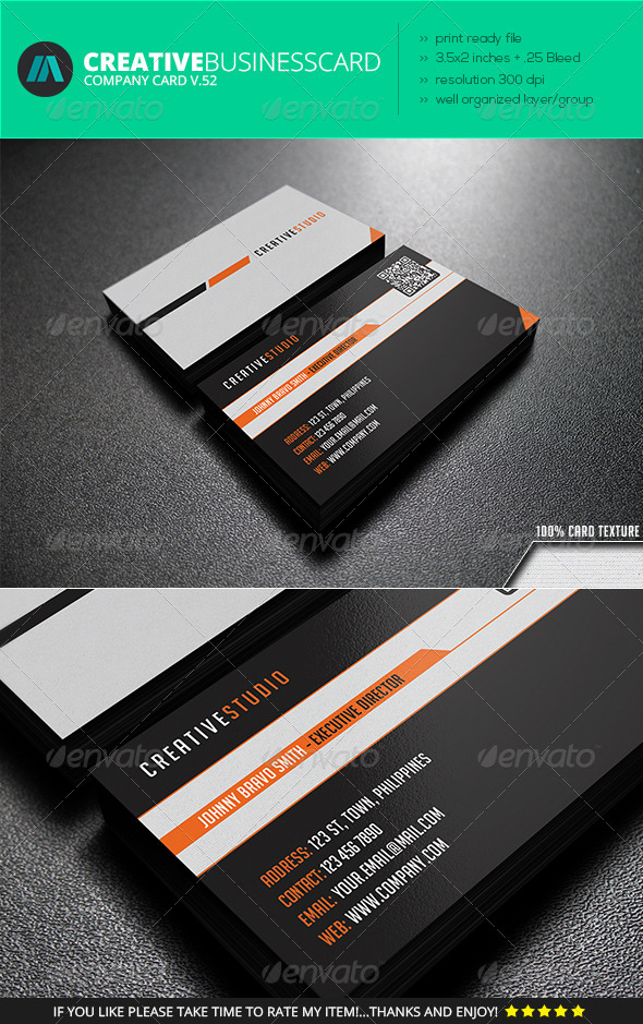 IntenseArtisan Business Card Vol.52 - Creative Business Cards