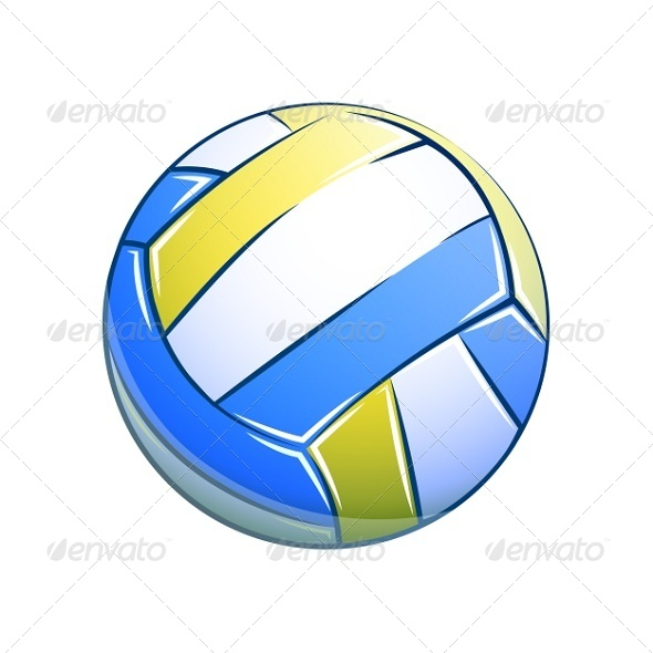 VolleyBall  Ball - Man-made Objects Objects