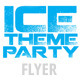 Ice Theme Party Flyer - GraphicRiver Item for Sale