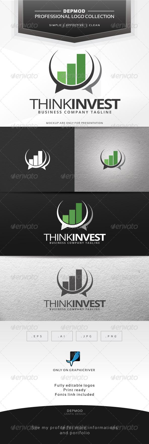 Think Invest Logo - Symbols Logo Templates