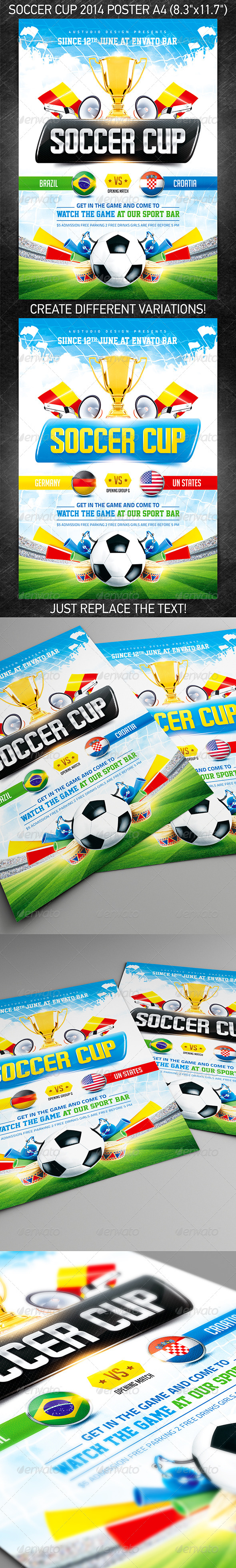 Soccer Cup 2014 poster - Sports Events