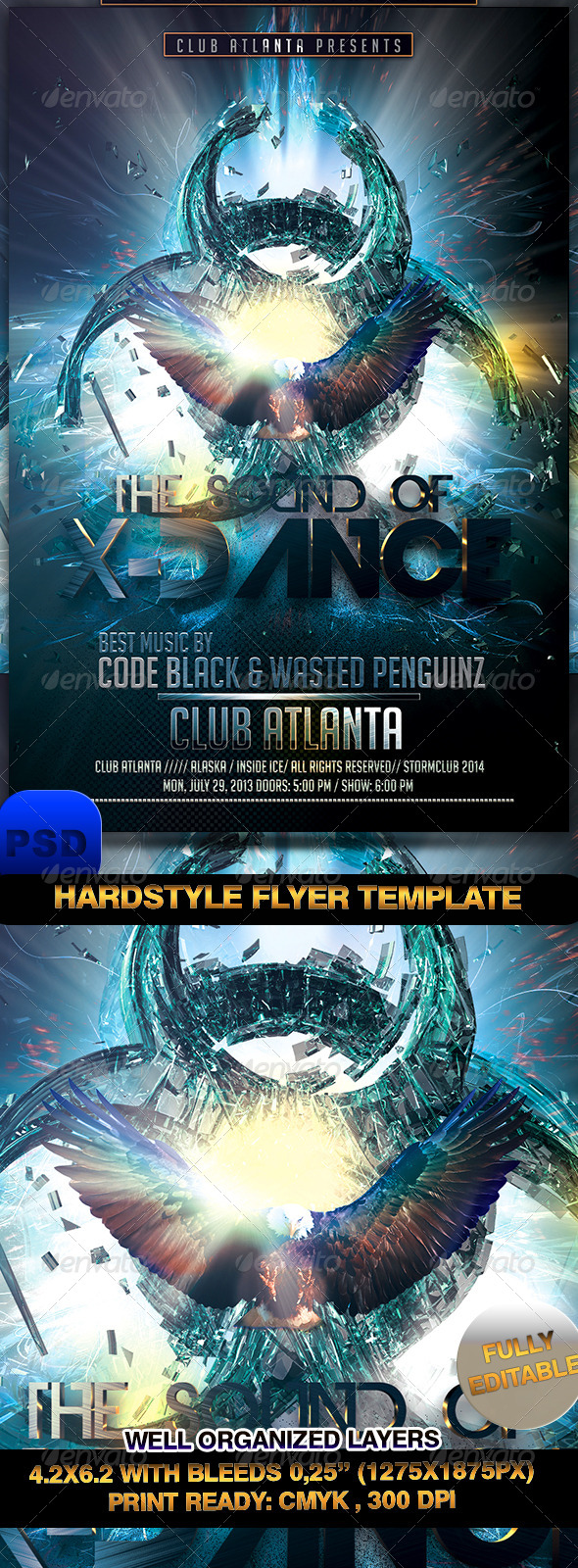 Hardstyle Flyer Template - Events Flyers