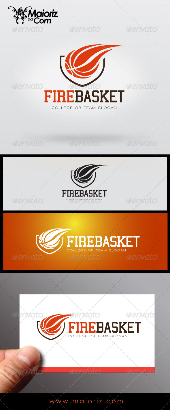 Fire Basket Logo - Objects Logo Templates