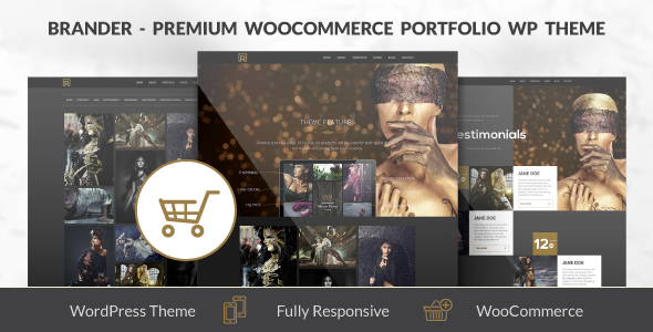 Brander - WooCommerce Portfolio WP Theme - eCommerce WordPress