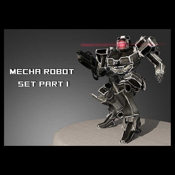 Mech Set #1 - 3DOcean Item for Sale