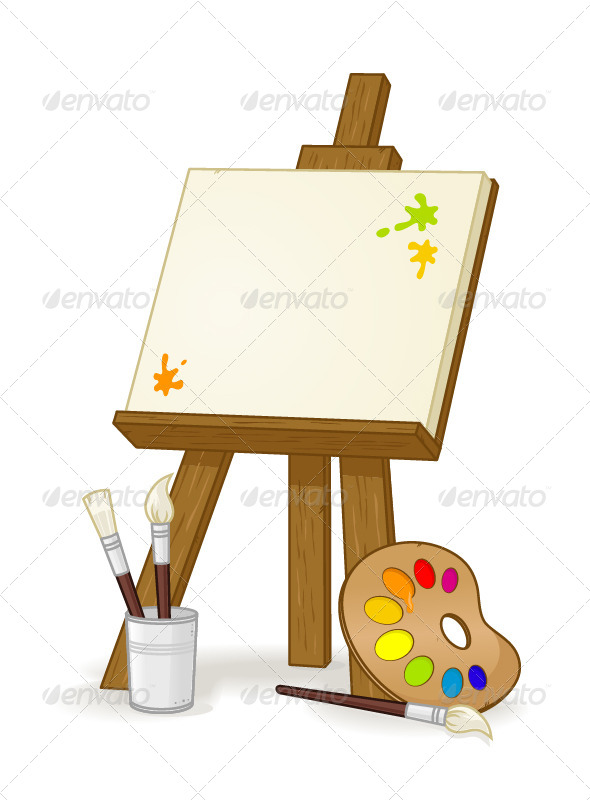 Easel - Objects Vectors