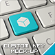 Custom Key Mockup - GraphicRiver Item for Sale