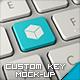 Custom Key Mockup - GraphicRiver Item for Sale