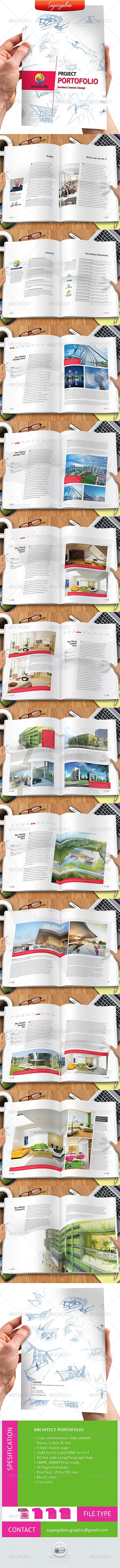 Architect Portfolio - Portfolio Brochures