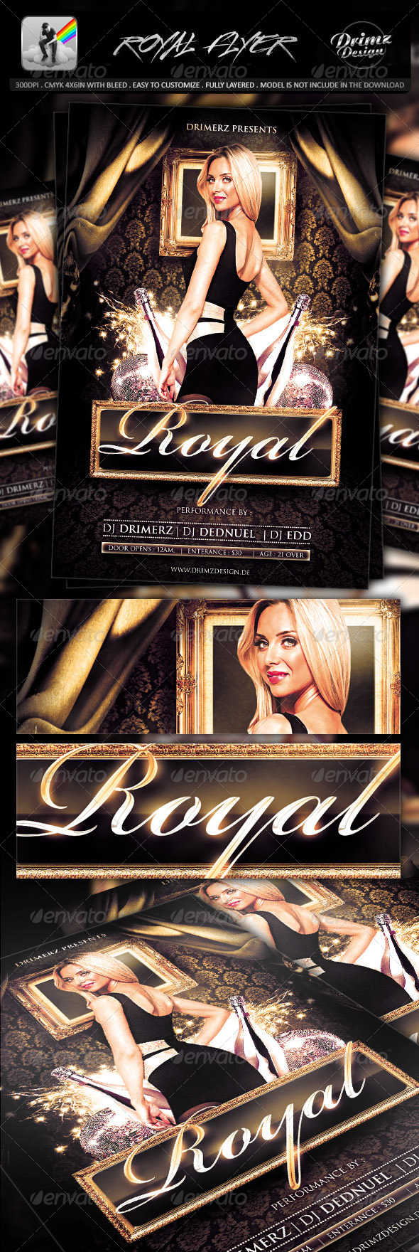 Royal Flyer - Events Flyers