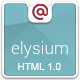 Elysium Multipurpose HTML Template