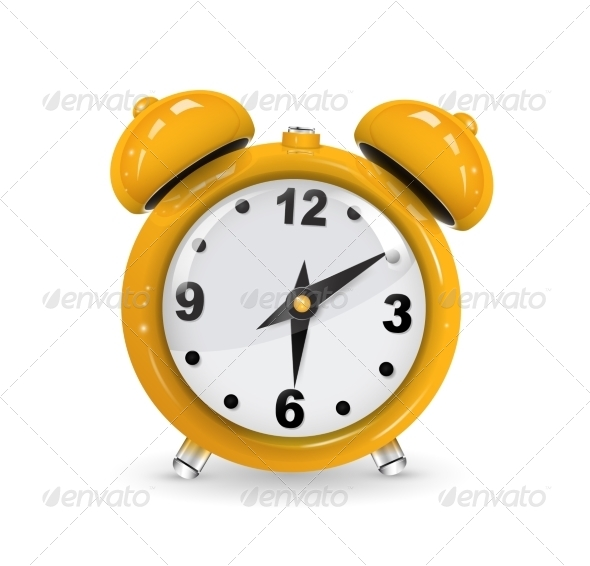 Alarm Clock - Man-made Objects Objects
