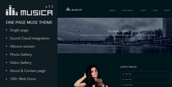 Musica – Music Band & DJ Muse Theme