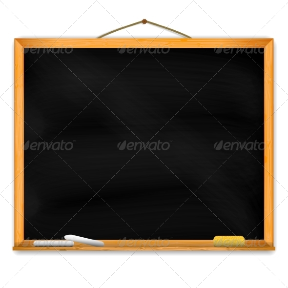 Chalkboard - Man-made Objects Objects