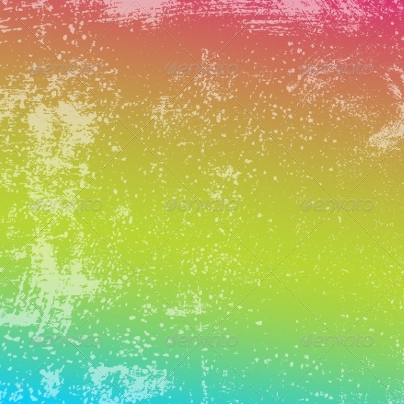 Rainbow Grunge Texture - Backgrounds Decorative