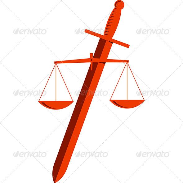 Justice - Decorative Symbols Decorative