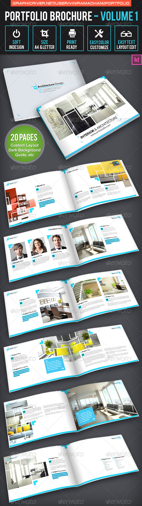 Portfolio Brochure Volume 1 - Corporate Brochures