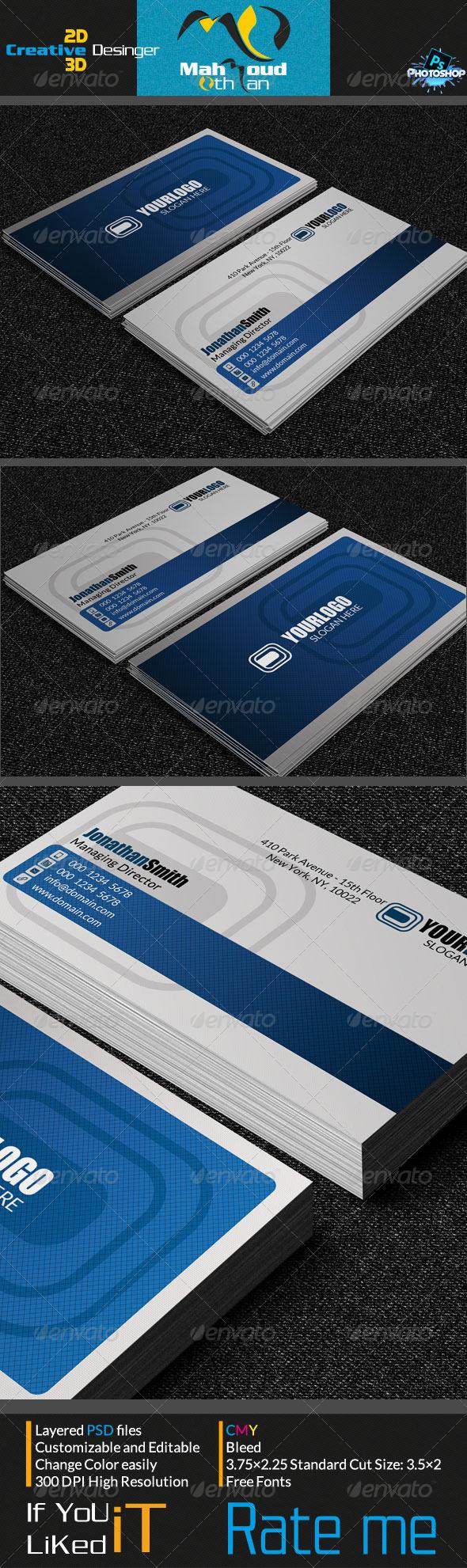 Creative Business Card V04 - Creative Business Cards