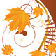 Autumn Ornament with Maple Leaves - GraphicRiver Item for Sale