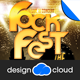 The Rock Fest Concert Poster Flyer Template