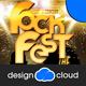 The Rock Fest Concert Poster Flyer Template
