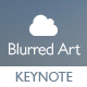 Blurred Art - Creative Keynote Template  - GraphicRiver Item for Sale