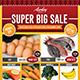 Supermarket / Product Promotion Flyer - GraphicRiver Item for Sale