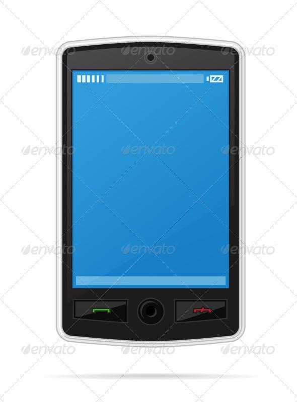 Cellphone - Technology Conceptual