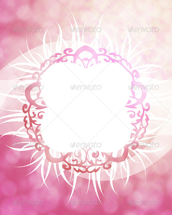 Pink Frame Background - Business Backgrounds