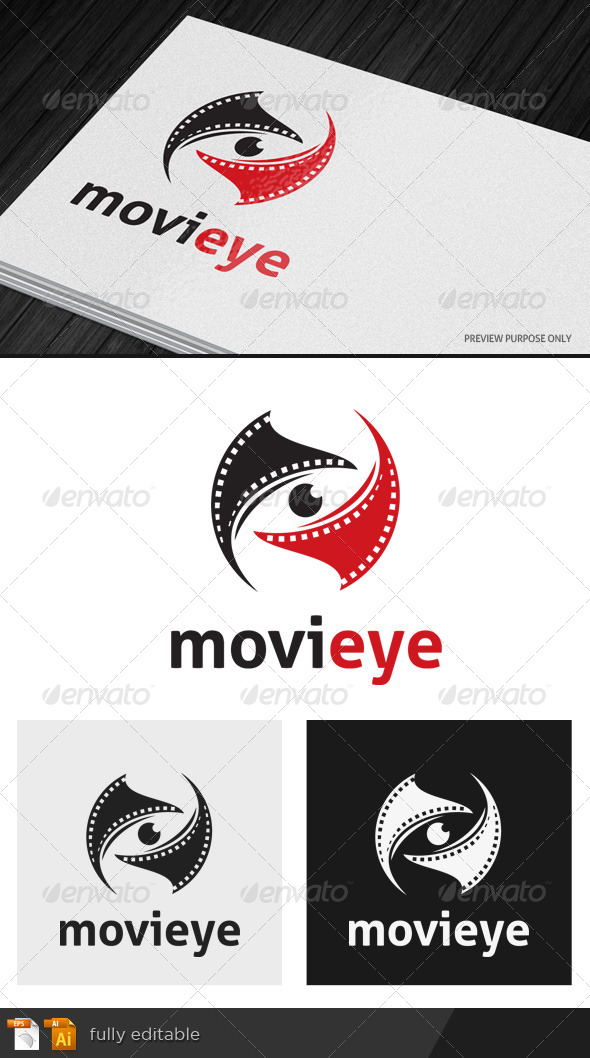 Movieye - Objects Logo Templates