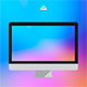 8 Color Gradient Blur Backgrounds - GraphicRiver Item for Sale