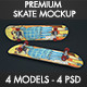 SkateBoard Mockup - GraphicRiver Item for Sale