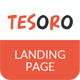 Tesoro - Super Simple Landing Page - ThemeForest Item for Sale