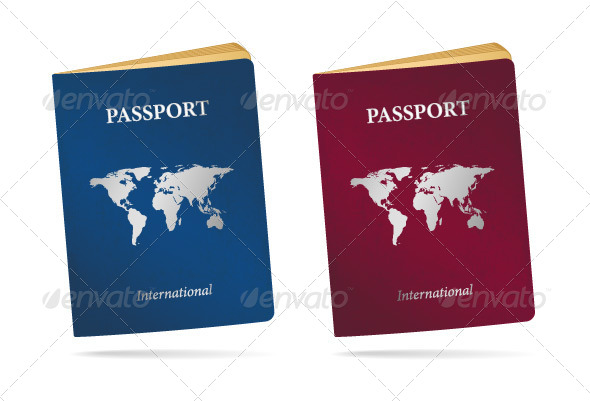 Passports - Objects Vectors