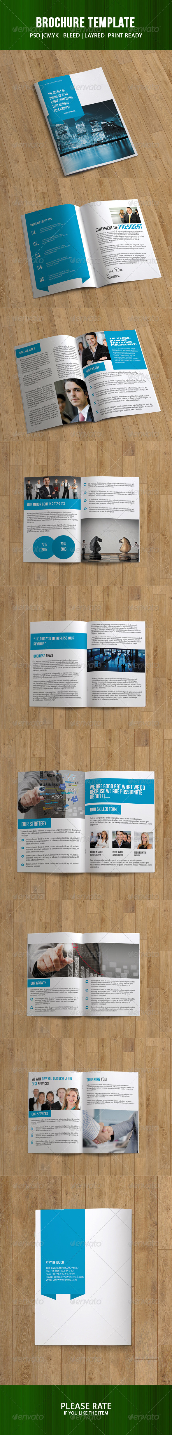 Business Brochure - 16 Pages - Corporate Brochures