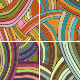 Collection of four seamless patterns with colorful - GraphicRiver Item for Sale