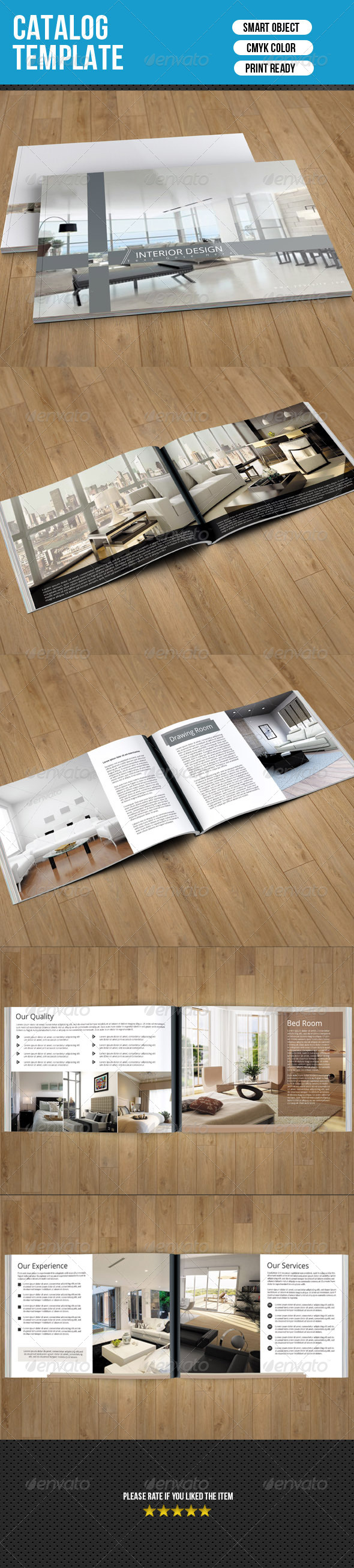 Interior Catalog Template - Catalogs Brochures