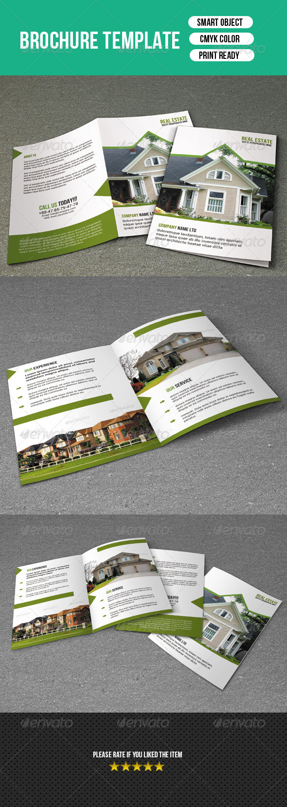 Bifold Brochure-Real Estate - Corporate Brochures