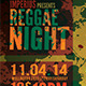 Reggae Night V2 - GraphicRiver Item for Sale