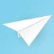 Paper Plane - GraphicRiver Item for Sale