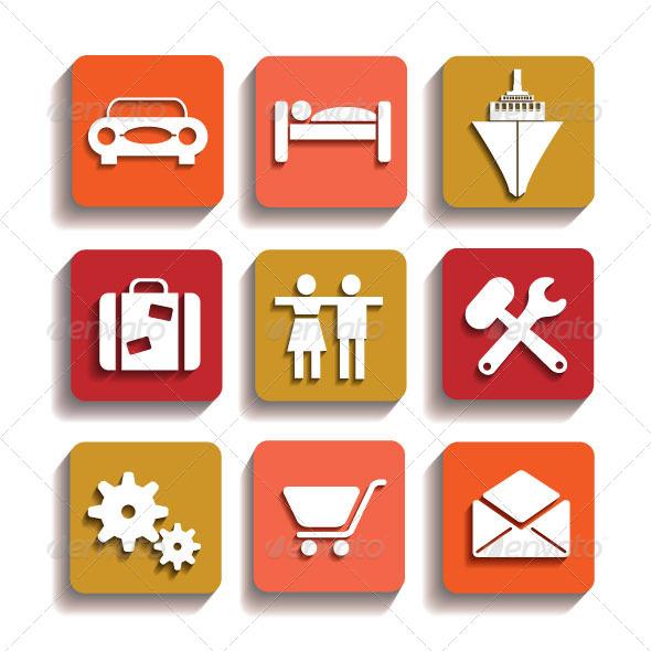 Icons - Web Elements Vectors